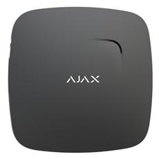 Ajax FireProtect Plus, zwart, draadloze optische rookmelder met hitte- en CO2 sensor
