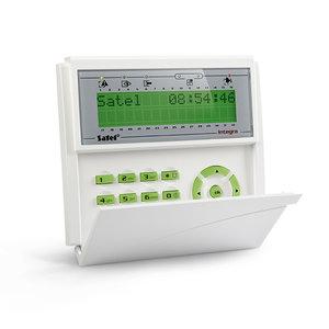 INT-KLCD-GR groen LCD met klep